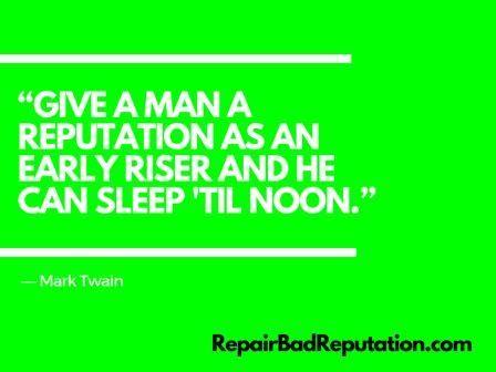 Reputation Quotes Impressive 34 Best Reputation Management Quotes Images On Pinterest .
