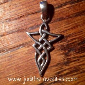 Vrouw Keltische knoop Zilver <3