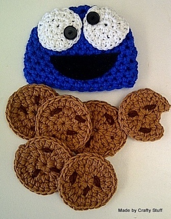 Crafty Stuff & Cutie Pie Photo Props... cookie monster baby photoprop