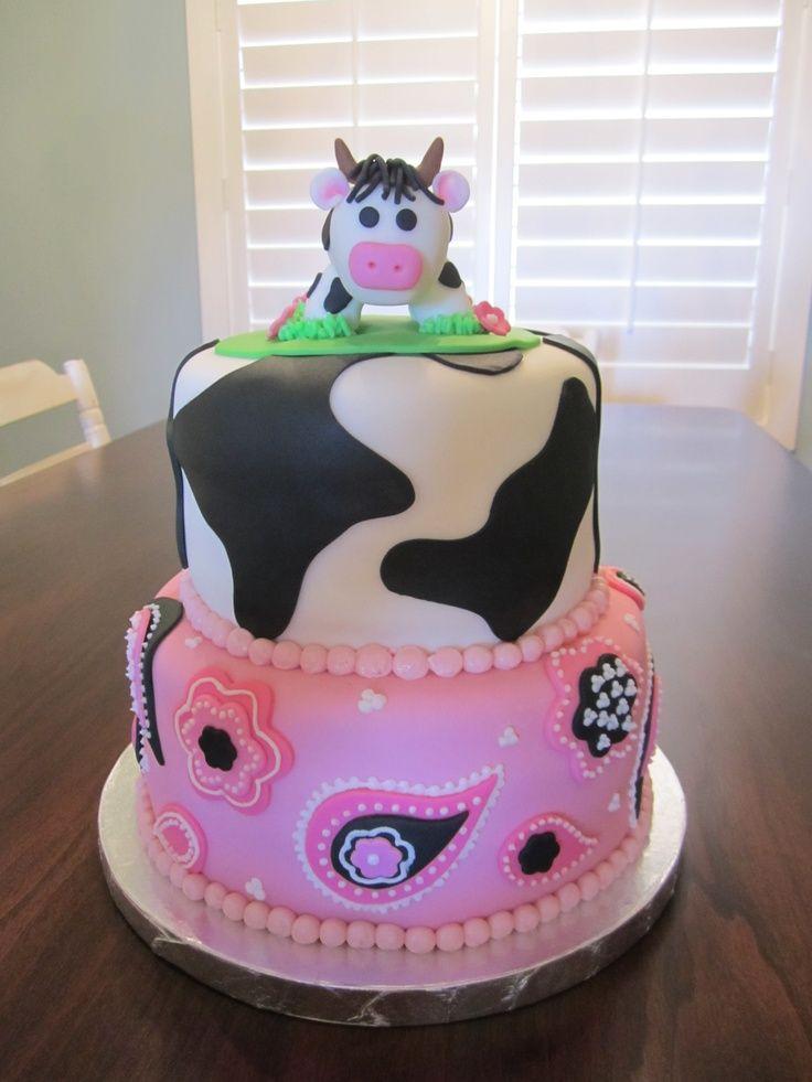 63 Best Cow Cakes Images On Pinterest Cow Cakes Farm