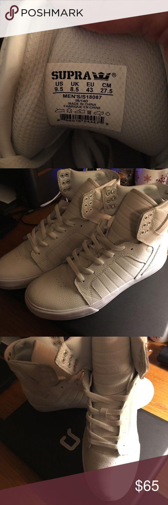 Men's Supra hightop shoes New hightop Supra shoes men's size 9.5 Supra Shoes Sneakers