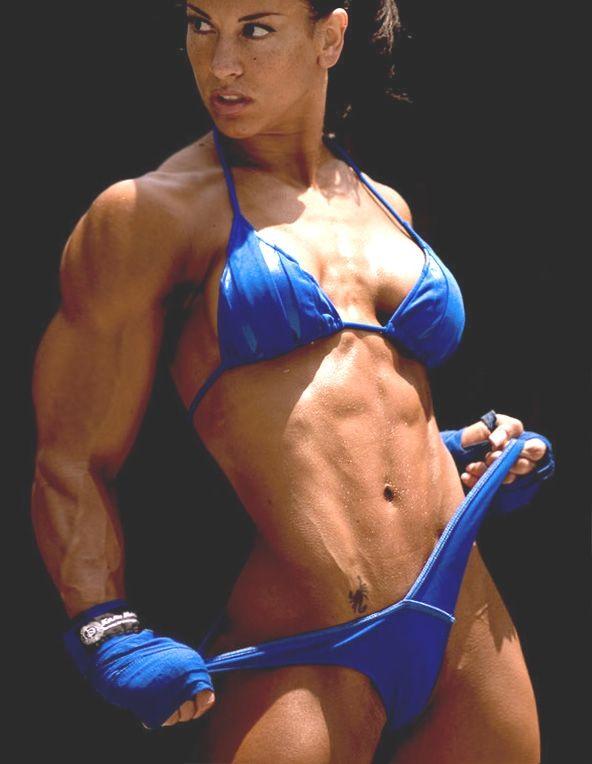 Bikini muscle morph