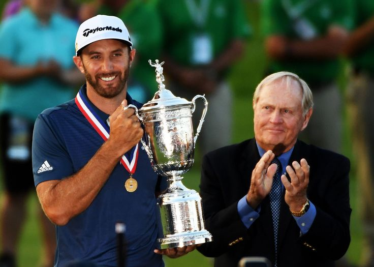 Dustin Johnson, US Open champion.                                                                                                                                                      More