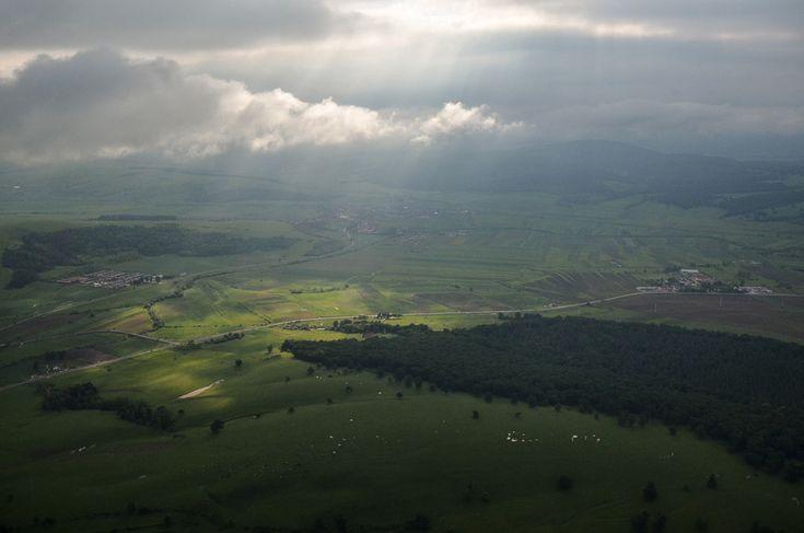 #Transylvania Peisaj din Mureş. (  Dragoş Asaftei  )