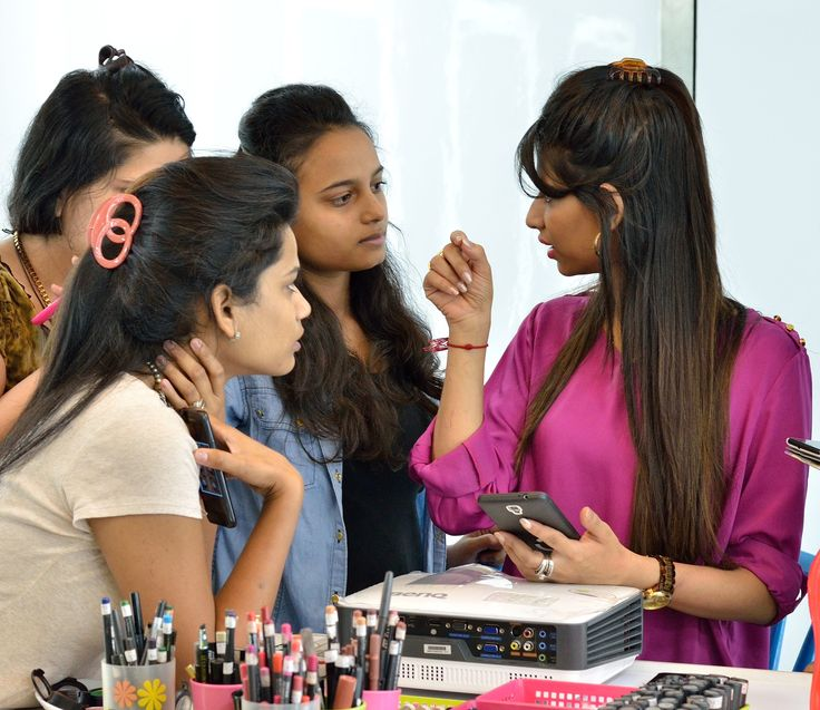 Our founder Jharna Shah guiding the students of the Professional Makeup course batch. We have an array of Professional & Personal Makeup courses at Jharna Shah Hair & Makeup Academy.  To know more about the various courses on offer, contact the academy on: 022-26102100/ +91-7506812909 Visit us on: www.jharnashah.com   #makeupacademy #makeupandhair #makeup #makeupcourseinmumbai #professionalmakeupartistry #professionalmakeupartist