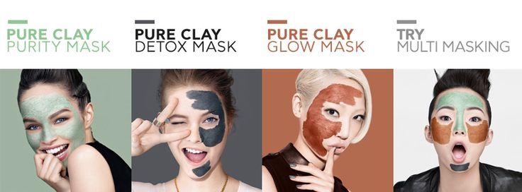 Οι πρώτες μάσκες προσώπου από τη L'Oréal Paris. Η τελευταία καινοτομία στην περιποίηση της επιδερμίδας, συνδυάζει τρεις ισχυρές μάσκες.