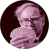 O conselho é de Warren Buffett: esqueça a concorrência (Foto: Louie Psihoyos/Corbis)