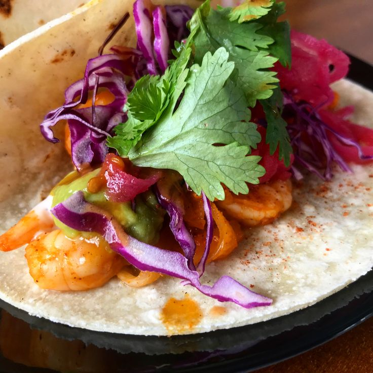 Chipotle Prawn Lucky Taco! 🌶🍤🌮