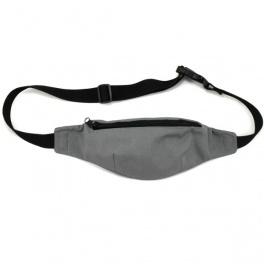 Gray hip bag / Szara nerka - torebka na pas lub biodro
