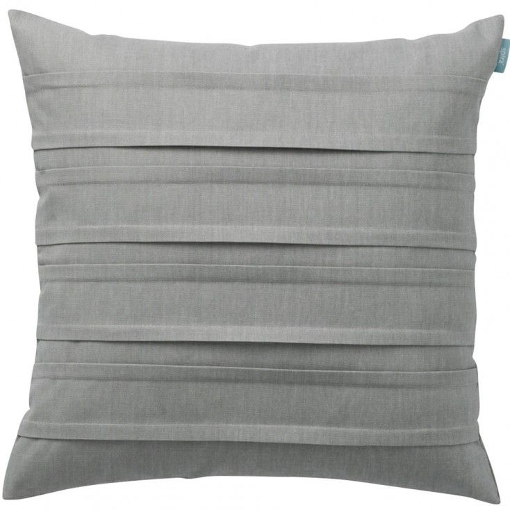 Double pleat cushions from Hus & Hem are the perfect plain to mix with their more flamboyant designs. Simple, but with added interest from the inverted pleats that run horizontally across the front of the cushion.