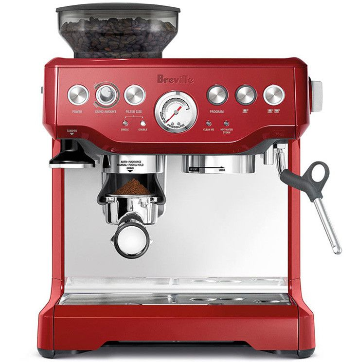 Breville BES870 Barista Espresso Cappuccino Maker Coffee Machine With Grinder