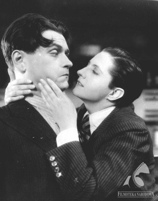 Jadwiga Smosarska i Eugeniusz Bodo / Czy Lucyna to dziewczyna / polska komedia / 1934 / reż. Juliusz Gardan