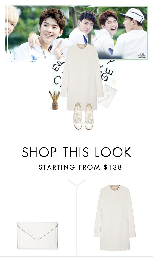 """""""HAPPY IED MUBARAK<3"""" by channdid ❤ liked on Polyvore featuring Isaac Mizrahi, Victoria Beckham and H&M"""