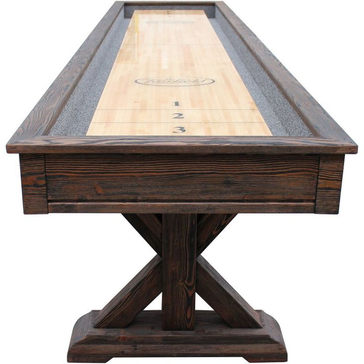 Playcraft Brazos River Pro Style Shuffleboard Table   SHBRR