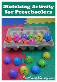 Fun way to recycle plastic Easter eggs.