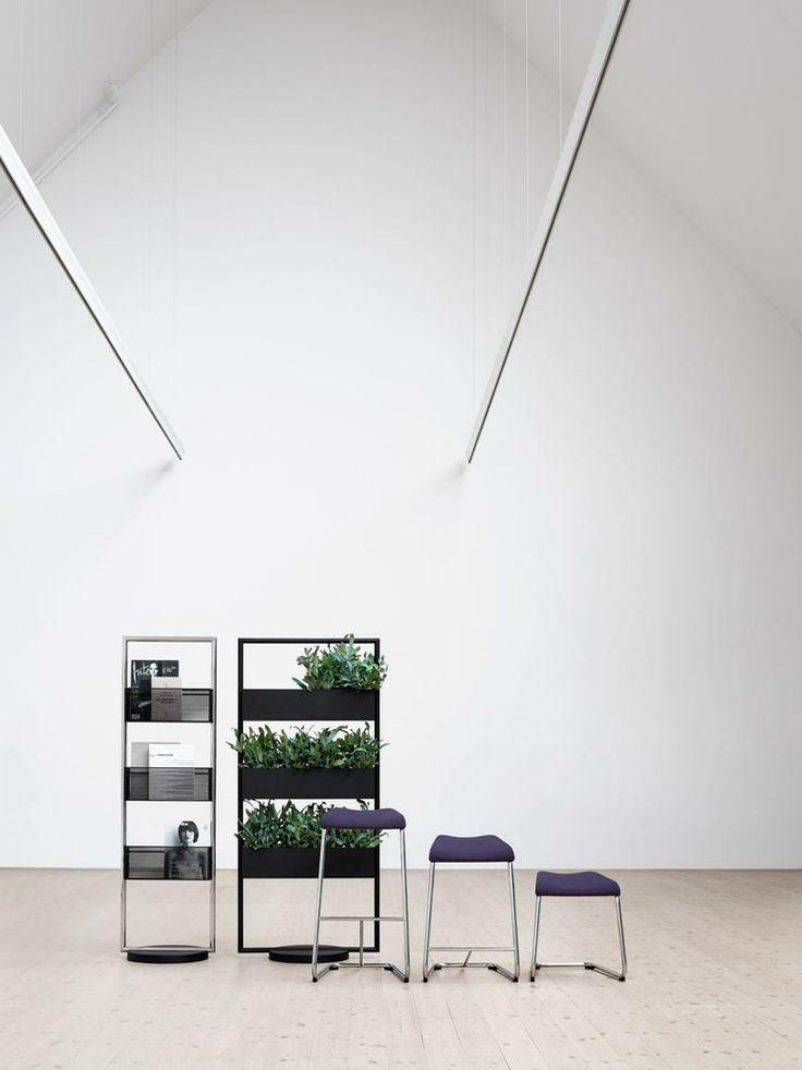 Add stool, barstool and storage rack/coat hanger, designer Anya Sebton | Lammhults
