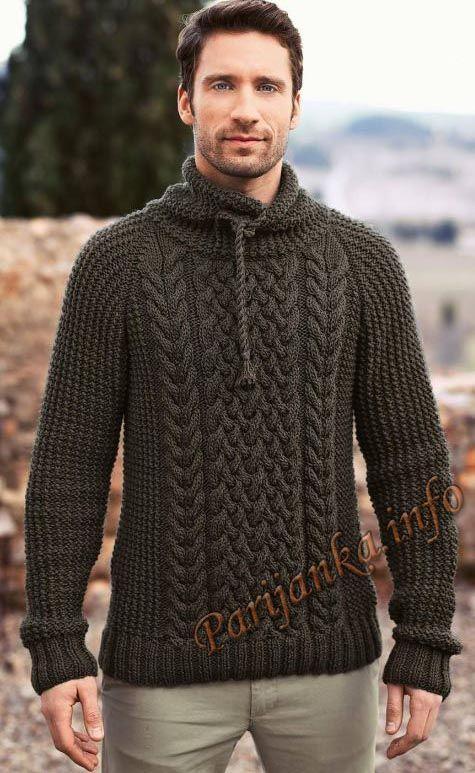 Пуловер (м) 162 Creations 2015/2016 Bergere de France №4728