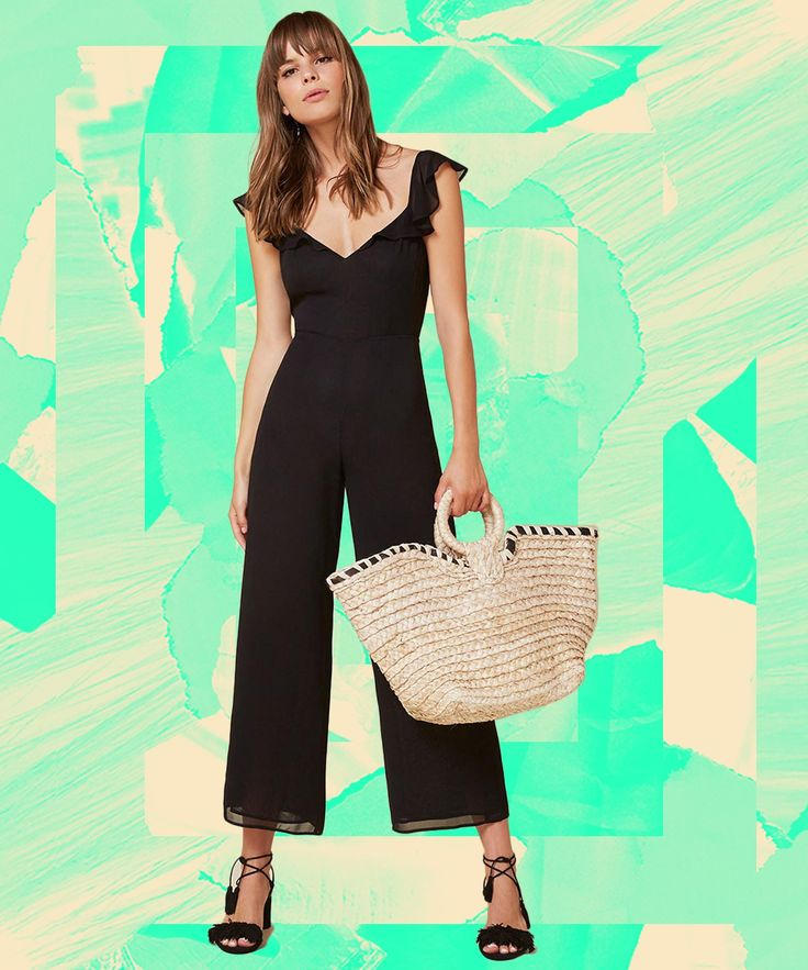 Reformation Best Selling Sold Out Miri Jumpsuit | The jumpsuit everyone is buying from Reformation won't last long. #refinery29 http://www.refinery29.com/reformation-best-sellers-miri-jumpsuit