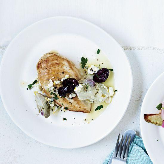 Chicken Breasts with Artichoke-Olive Sauce | Recipe | Wine Recipes ...