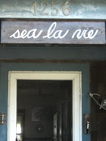 A life style blog for people who love the sea.: Does your Home have a Name? More than 30 Beach House Names!