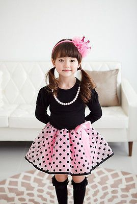 >> Click to Buy << 2017 Christmas Baby Dresses Girls Princess Polka Dot Plaid Long Sleeve Party Full Fancy Dress #Affiliate