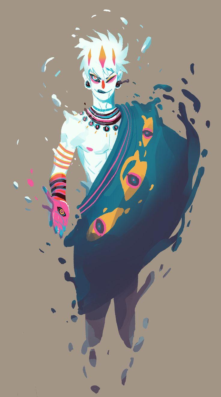 Men in fantasy art — ginkgosan: .- Eros, the god of love