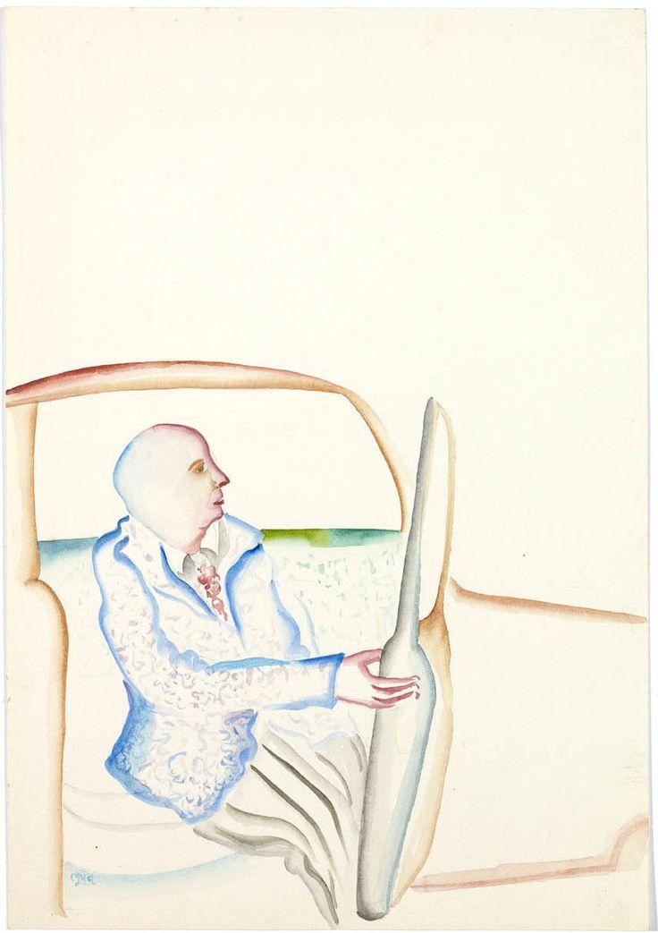 Thunderstruck (Bhupen Khakhar (Indian, 1934-2003), Man getting...)
