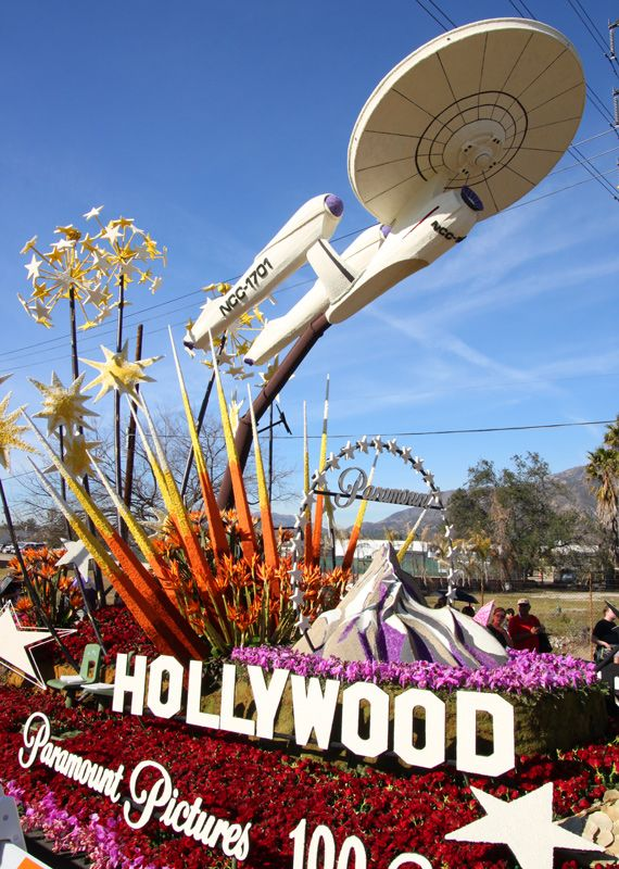 Paramount, Hollywood, Rose Parade Floats - Pasadena, California Ray Anderson