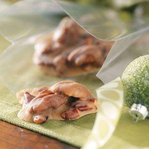 Bourbon Pecan Pralines Recipe from Taste of Home