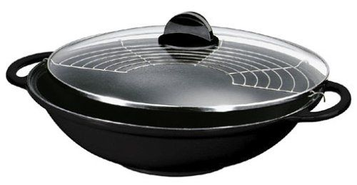Silit Tao Set wok in ghisa, diametro: 30 cm, con coperchi... https://www.amazon.it/dp/B00008W5MV/ref=cm_sw_r_pi_dp_3EPwxbN5J2TT7