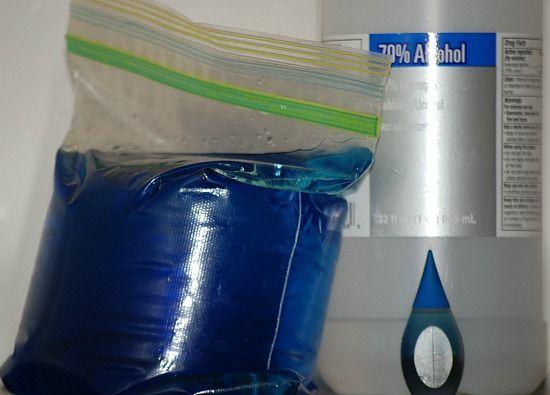 Make your own Blue Ice - so simple: Homemade Gel, Homemade Cold, Homemade Thrifty, Homemade Freezers, Homemade Ice Packs, Eye, Kid