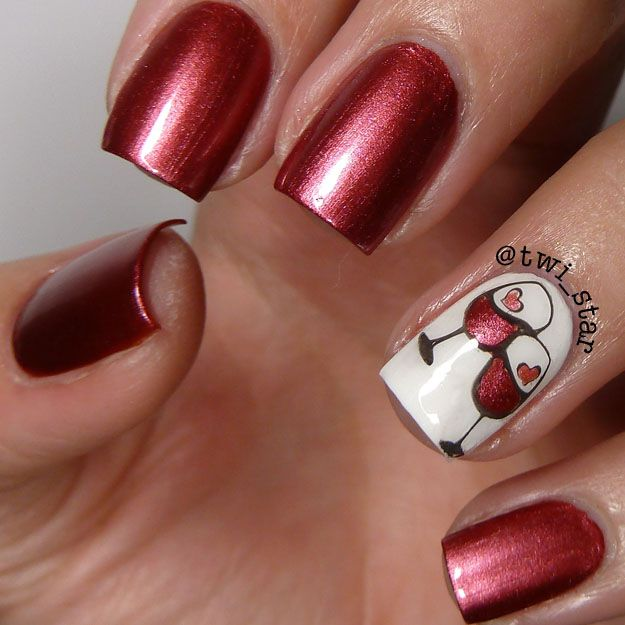 Wine Colored Nail Polish: Best 25+ Wine Nails Ideas On Pinterest