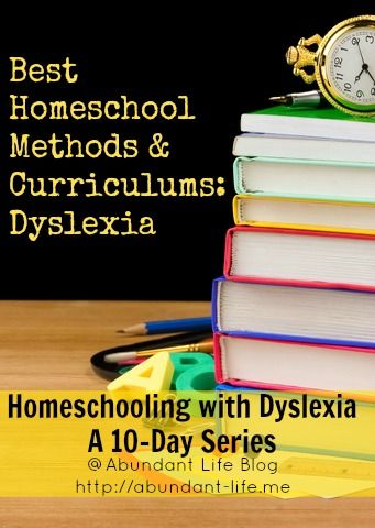Best Homeschool Methods and Curriculums for Dyslexia. see our typeface collection that improves legibility and reading comprehension at http://www.fonts4dyslexia.com/