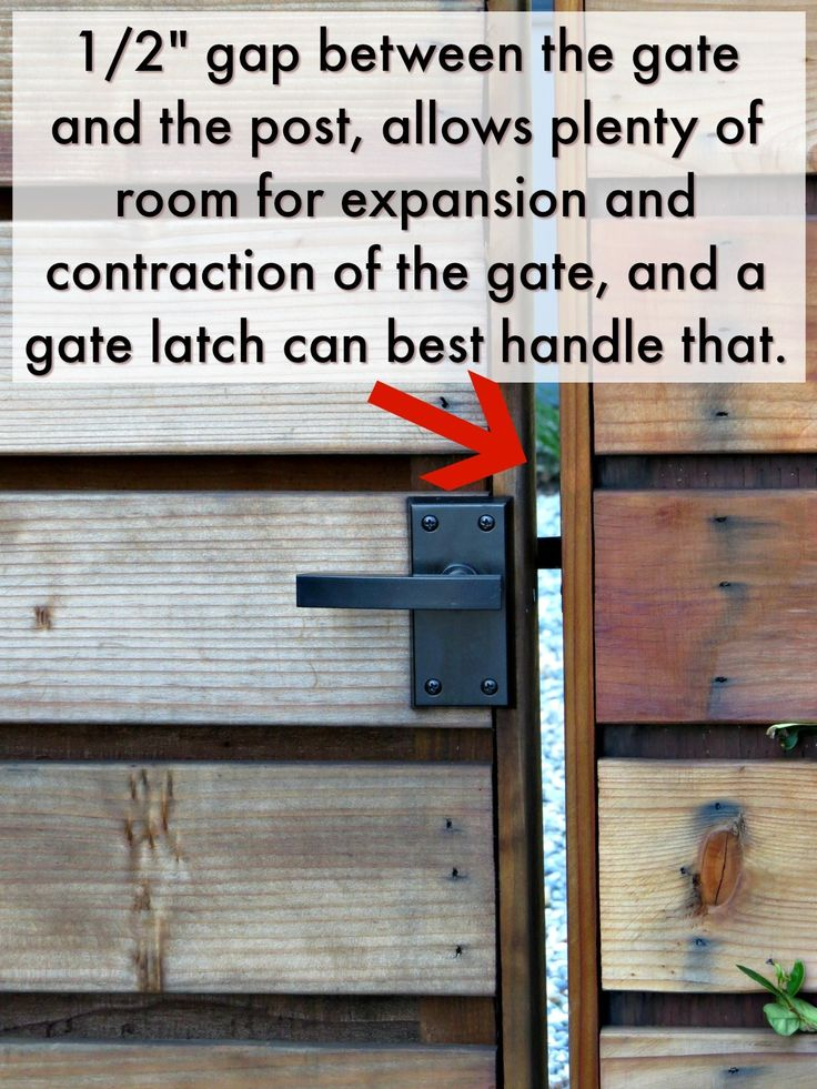 9 best How To Install Gate Hardware images on Pinterest | Gate ...