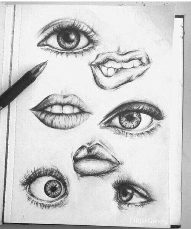 how to draw beautiful lips