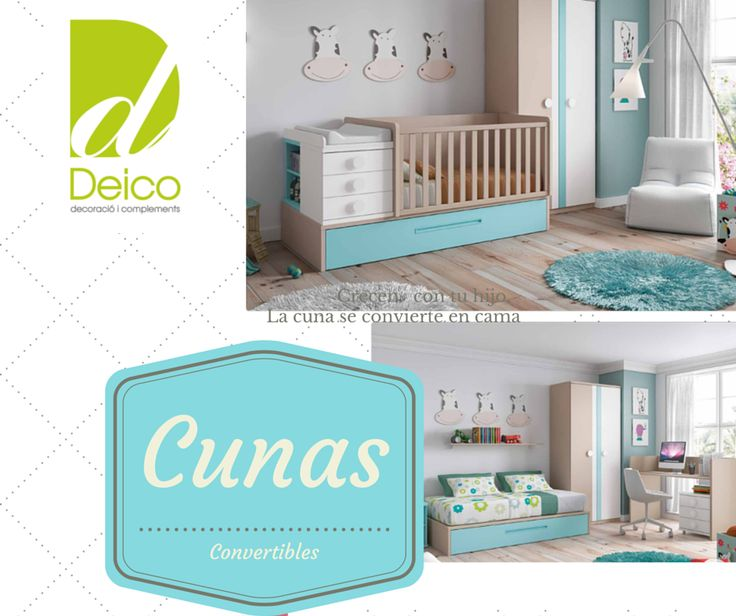 13 best Habitaciones baby images on Pinterest | Convertible crib ...