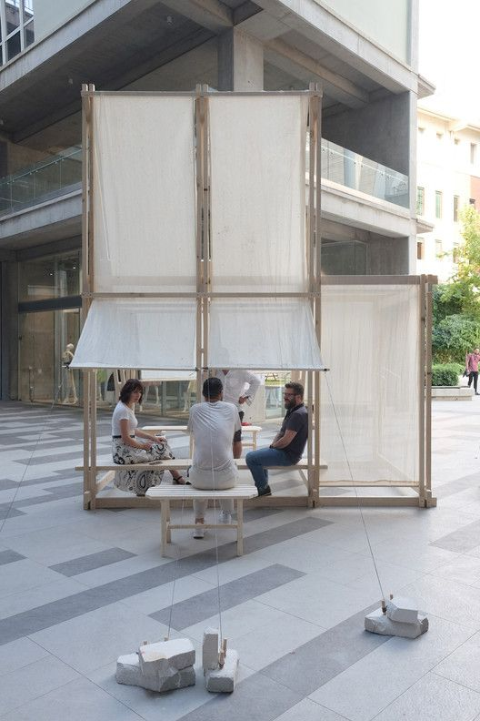 Gallery of Geçit Wooden Pavilion / IEU Faculty of Fine Arts and Design Workshop – 28