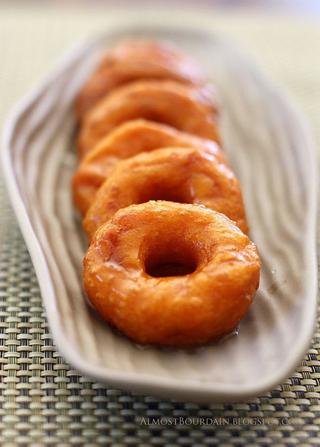 Malaysian Sweet Potato Doughnuts: Sweets, Sweet Potatoes, Treat