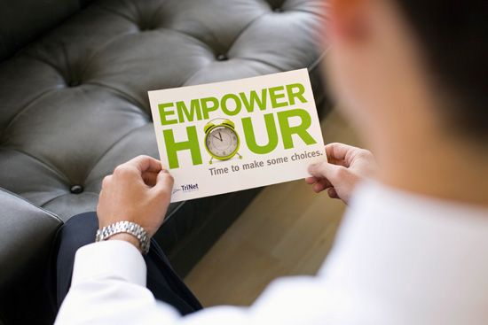 "LOOK's ""Empower Hour"" campaign for this global HR consultant persuades people to…"