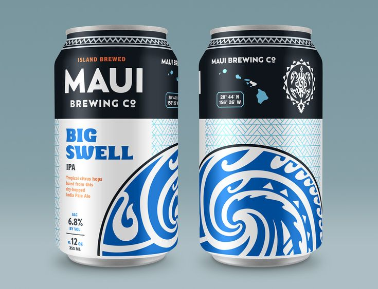 Maui Brewing Company — The Dieline - Branding & Packaging