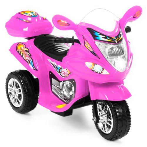**Super Cool Gift Alert**  EBAY:  Great Reviews!!  Was $129.95, NOW $49.99 + Ships FREE!  Kids Ride On Motorcycle 6V Toy Battery Powered Electric 3 Wheel Power Bicycle  Save $80: http://ebay.to/2zOYYOR  #ad