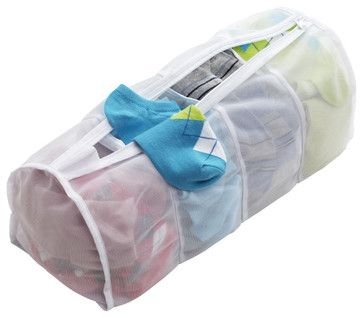 Wash your socks in these mesh bags so you never lose a mate. (Contemporary Laundry Products)
