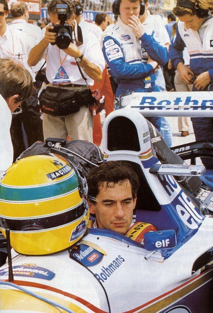 Ayrton Senna (San Marino 1994)....if only he hadn't raced that day...