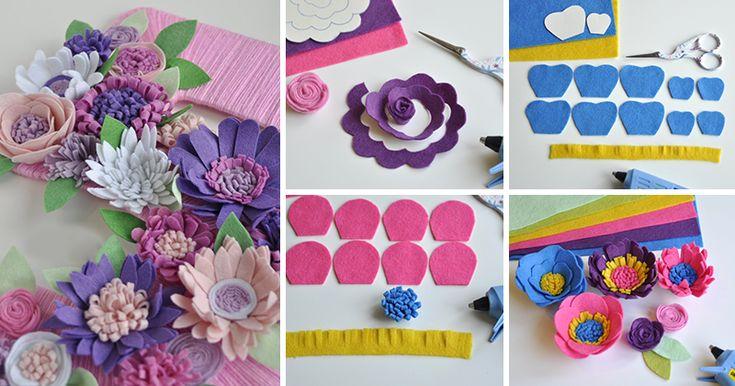 Как украсить праздник маленькой дочки? Наверное, каждая мама девочки задавалась таким вопросом. Вот и я не исключение. Так как у нас День рождения поздней осенью, то очень хотелось чего-то теплого, яркого и летнего. Так и появилась моя циферка с цветами. А если и вы захотите сделать такую цифру, то вам понадобятся: - разноцветный фетр, для цветочков не более 5-6 цветов, а для зеленых лис…