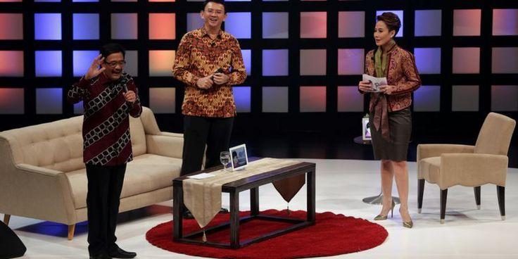 Kata Djarot soal Tidak Hadirnya Anies dan Sandi dalam Acara Kompas TV - Kompas.com