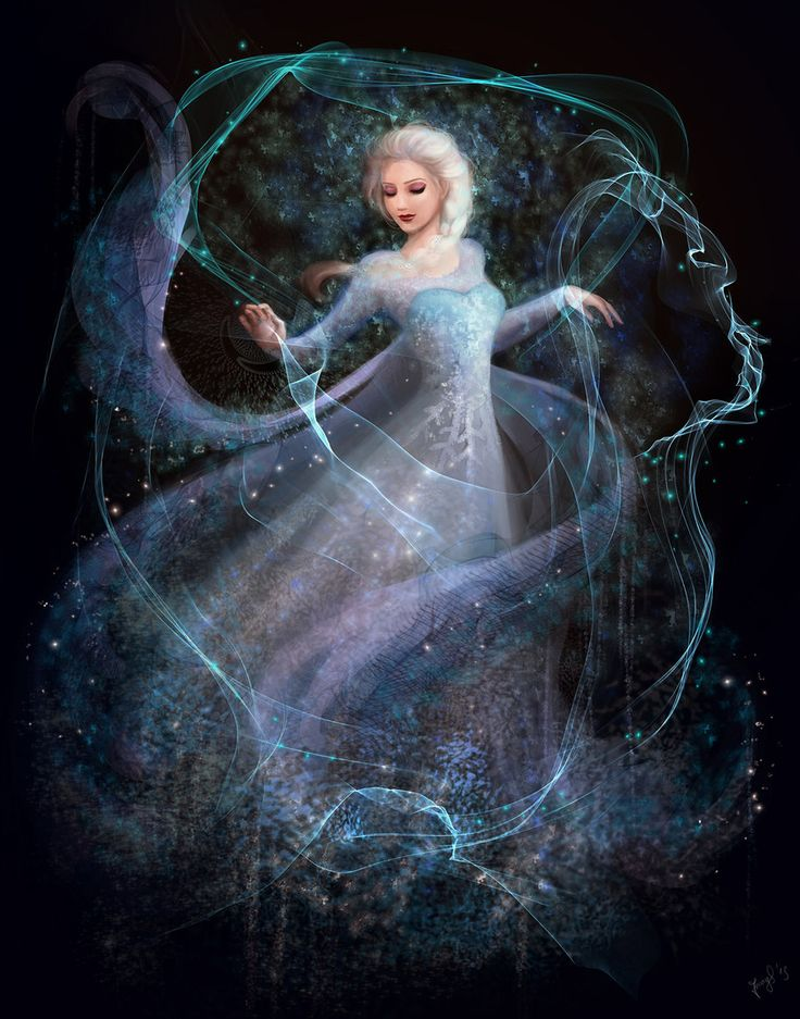 Elsa by Jennyeight on deviantART holy crow... that's beautiful, you have got some real talent, whoever you are. Elsa from Disney's Frozen