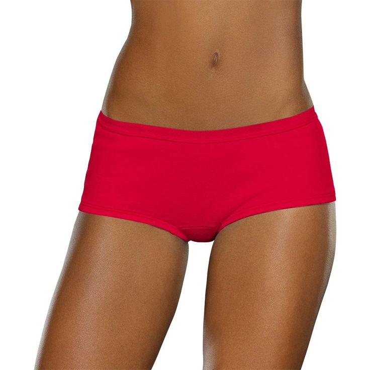 Fruit of the Loom Women's Ultra Comfort Seamless Boy Shorts