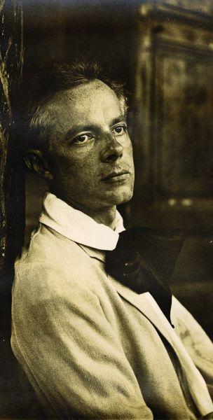 Hungarian composer Bela Bartok  (1881-1945)