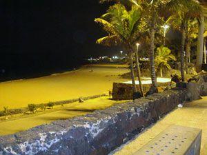 Spiaggia di notte - Gran Canaria - Salvo & Simona