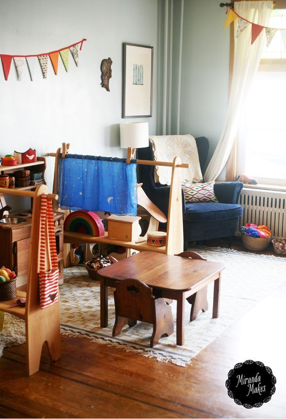 """Waldessori"" playroom"